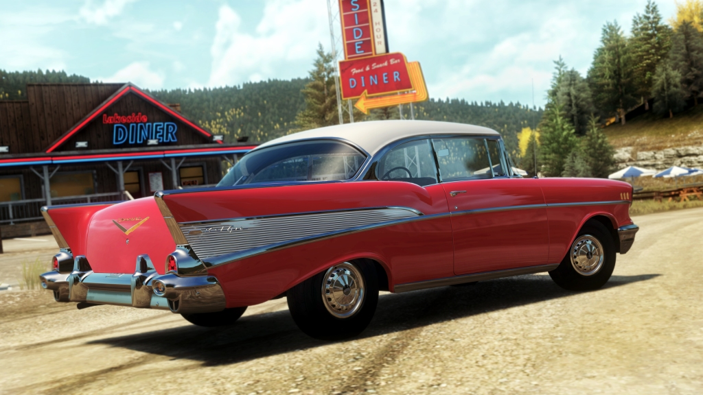 There's plenty of cars available and even more in DLC if you're willing to pay.