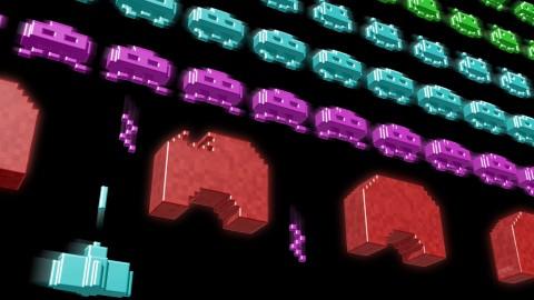 Desktop Space Invaders