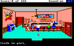Leisure Suit Larry in the Land of the Lounge Wizards