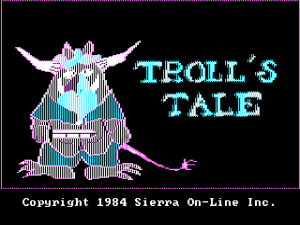 Troll's Tale - Intro Screen