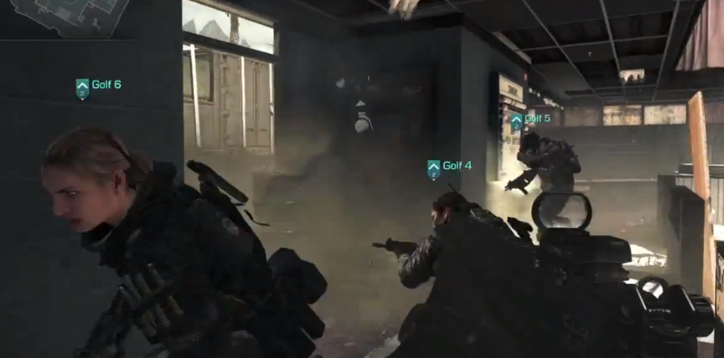 Screenshot from 'Call of Duty: Ghosts""