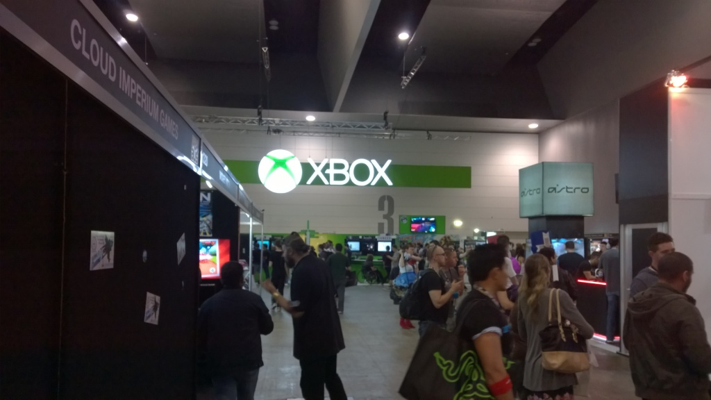 Xbox had a huge presence and the games to back it up.