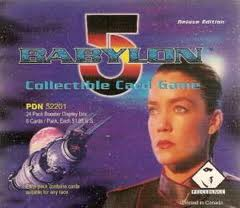 The box art for the babylon 5 game