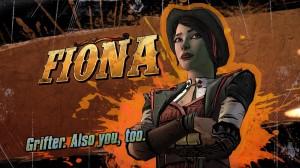 Meet Fiona - more thief, less douche.