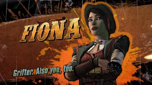 Meet Fiona - more thief, less douche.