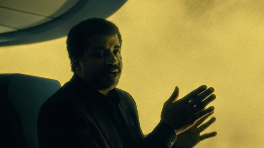 Neil deGrasse Tyson is the perfect guide during your travels through Cosmos.