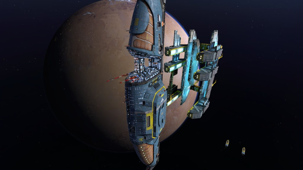 The remastered games wow you with a stunning visual design that is still unmistakeably Homeworld.