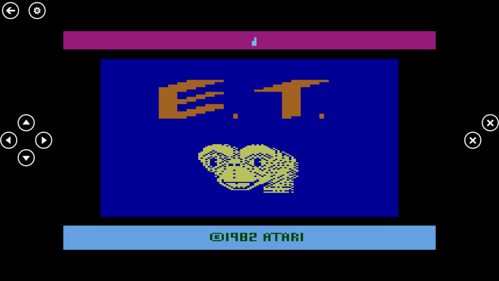 'ET' running on EMU7800