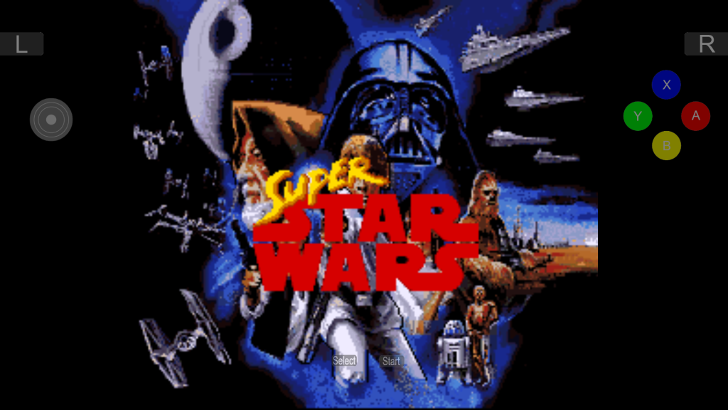 'Super Star Wars' courtesy of SNES8X+