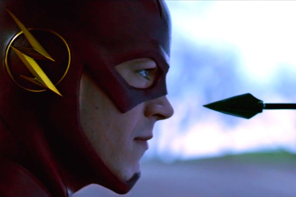 Grant Gustin really makes the role of Barry Allen, aka The Flash, his own.