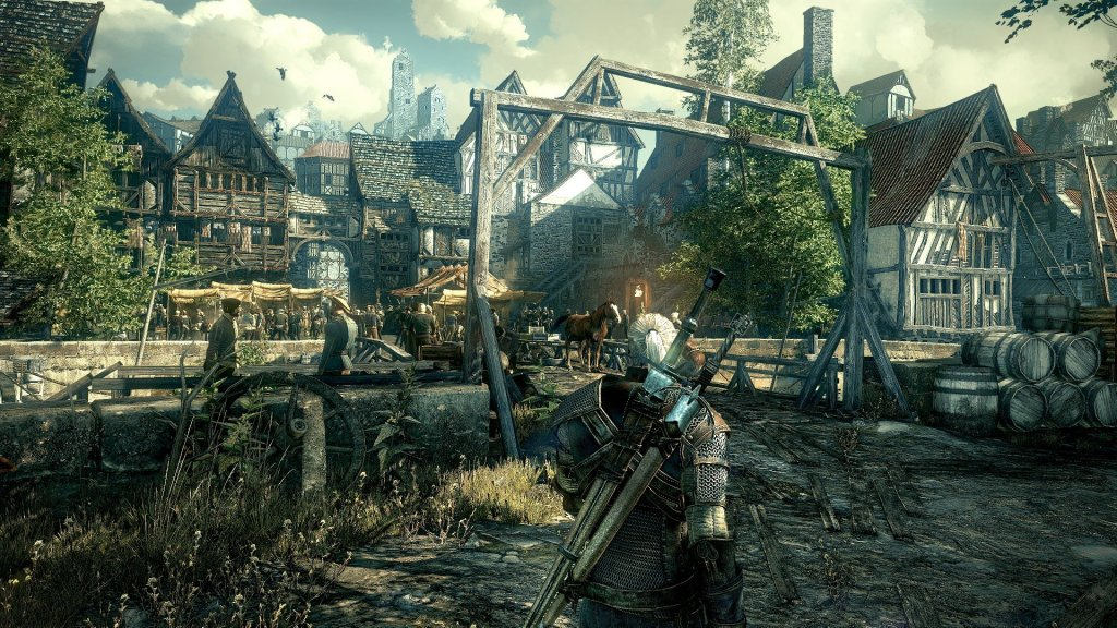 Witcher - town