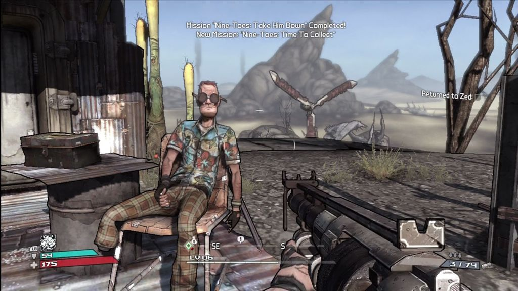 After being demonstrated at E3, Borderlands support (with DLC) is now here (2015-09-03).