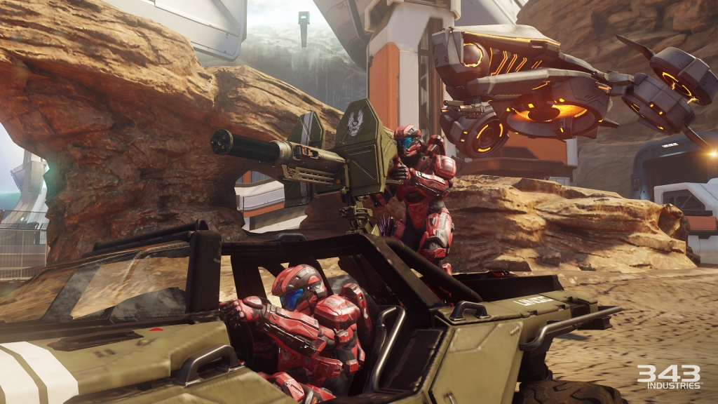 "Halo 5's Warzone multiplayer mode sounds like it might be worthy of being called the REAL ""Big Team Battle""."