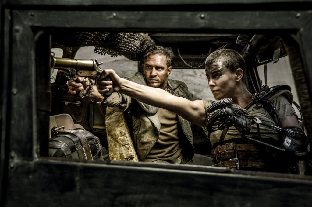 Max (Tom Hardy) and Furiosa (Charlie Theron) make a devastating team.