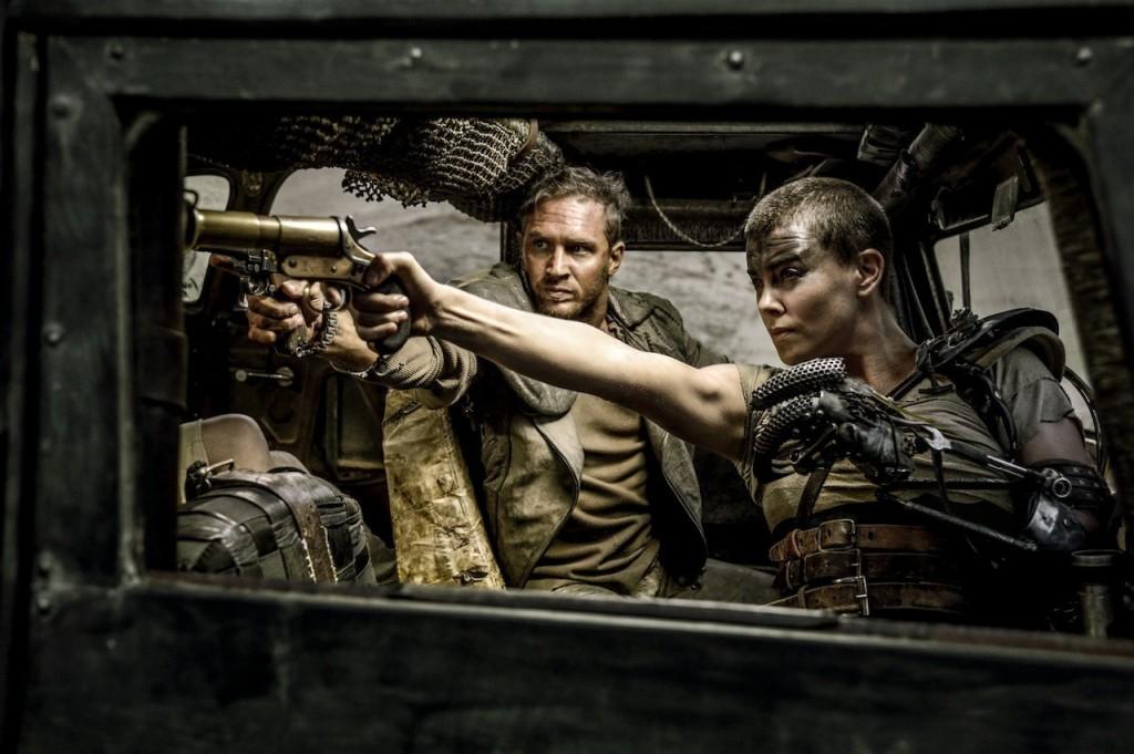 Max (Tom Hardy) and Furiosa (Charlie Theron) make a devastating team.