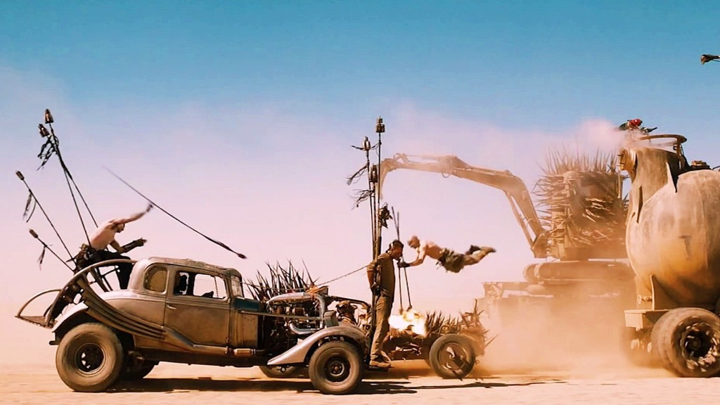 The chase/battle sequences are relentless and highlight both the amazing cars and the glorious stunt work.