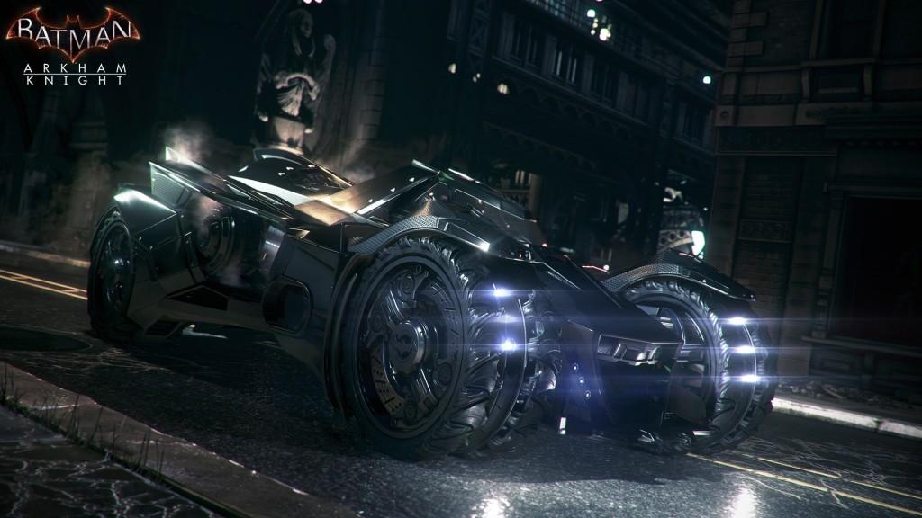 One mean looking Batmobile.