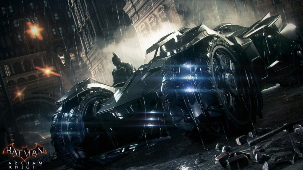 The new Batmobile: one VERY mean machine.