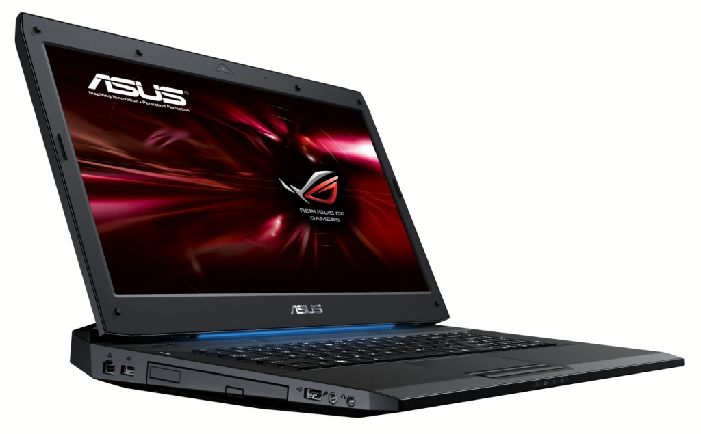The ASUS G73 - still a mean mother of a notebook.