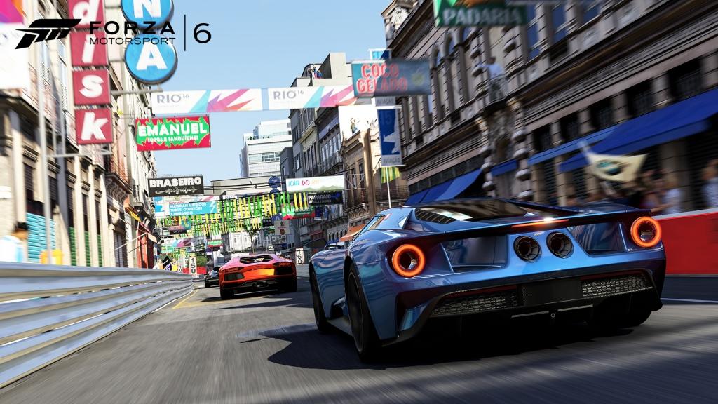 Rio de Janeiro makes a return from the original Forza Motorsport