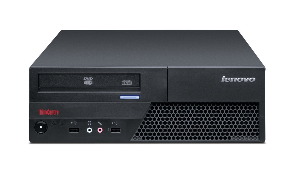 Lenovo ThinkCentre - bet you've seen one of these or its friends in many an office.