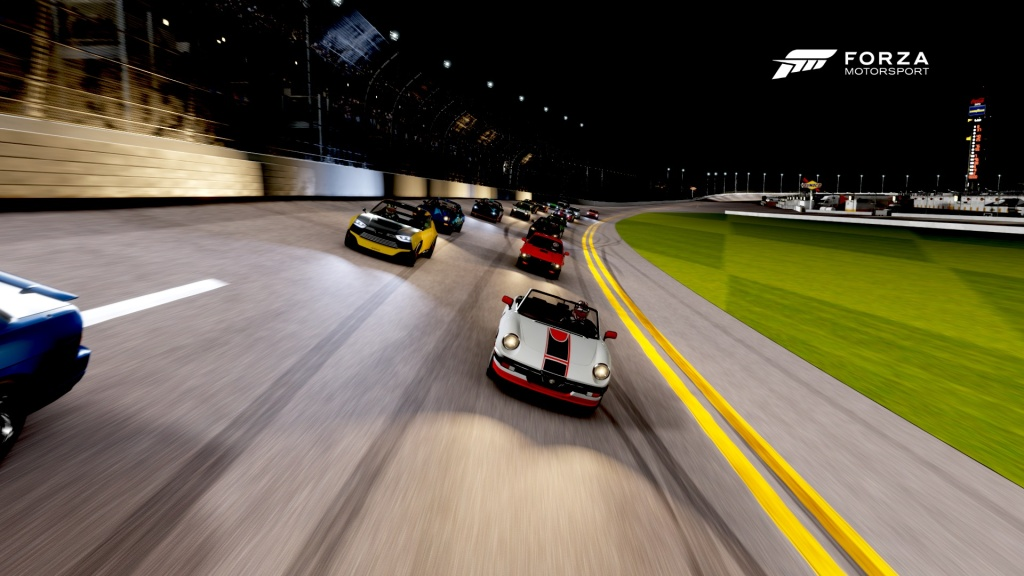 Night racing provides its own set of challenges.