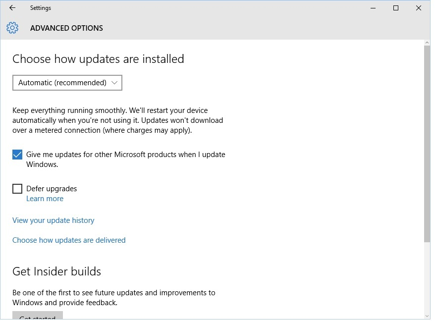 windows update 2