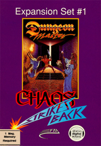 Chaos Strikes Back... more Dungeon Master is a good thing.