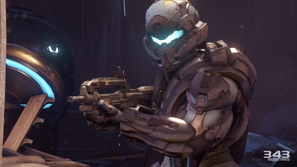 Spartan Locke, who you'll be spending plenty of time with throughout the campaign.