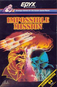 The cover for the game helped reinforce the secret agent mood.
