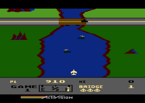 The Atari 8bit version of River Raid brings me a lot of happy memories.