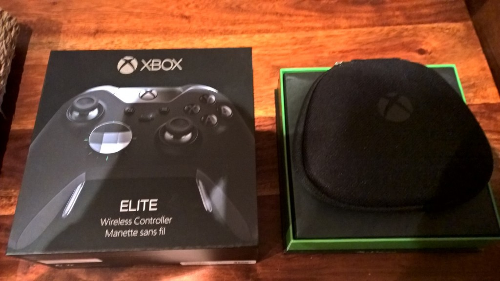 The Elite Controller box looks similar to the standard one until you see what's inside.