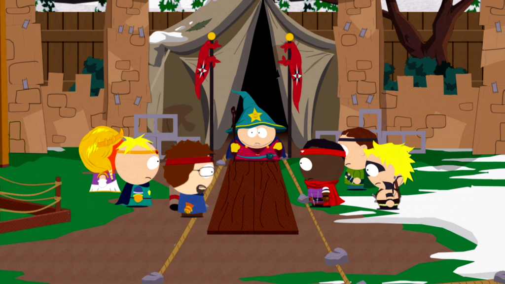 As expected, Eric Cartman likes to be the centre of attention.