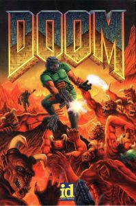 Though the game released as shareware first, boxed copies soon followed and kept the familiar art design.