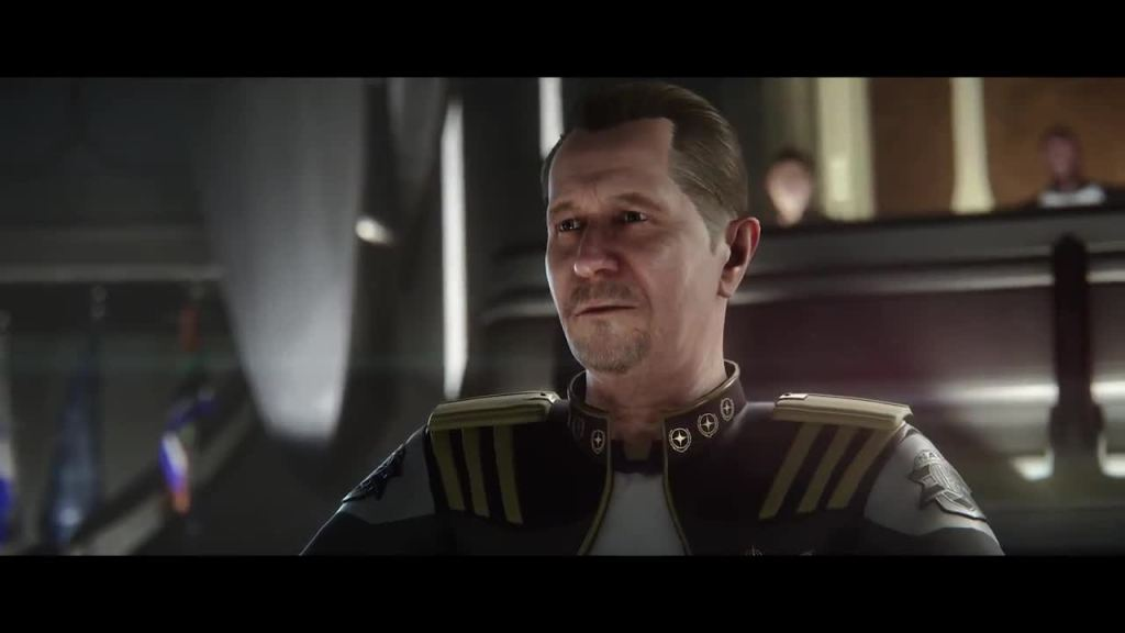 Gary Old man is one of many high profile actors who've provided their likeness and acting skills to the game's cinematics.