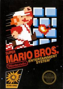 Early NES game boxes were reminiscent of the game graphic style used by Activision on their 2600 titles.