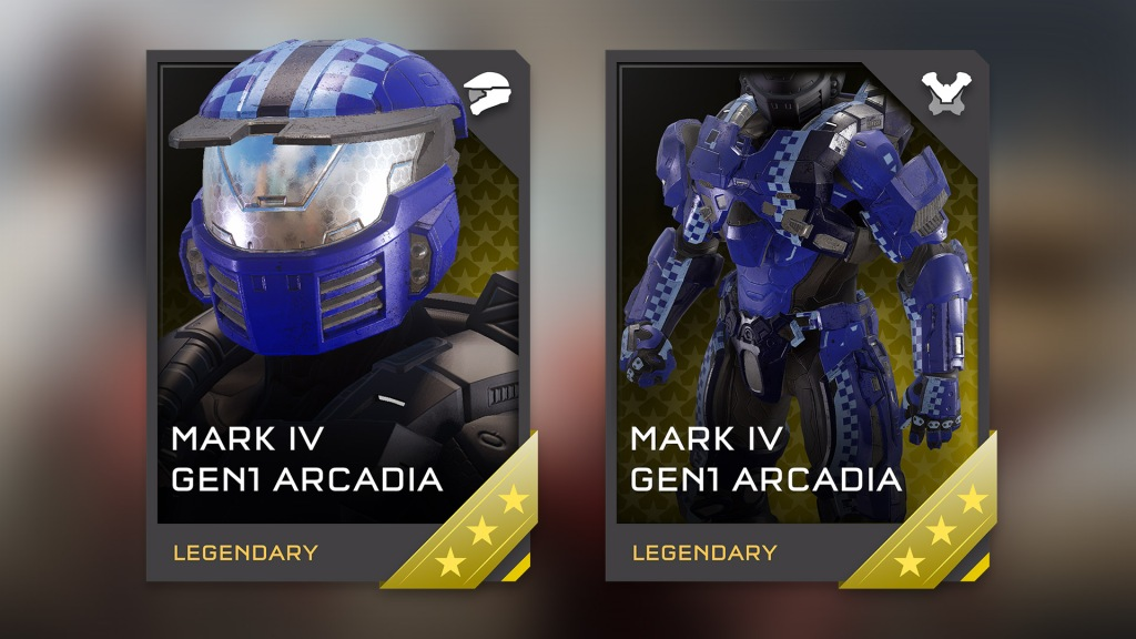 A VERY familiar armour set for long time Halo players.