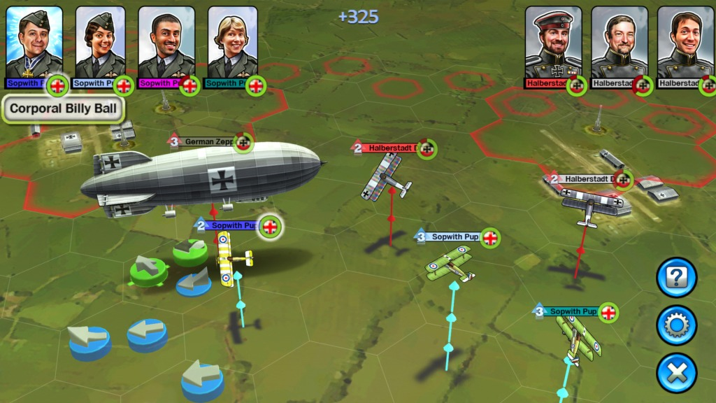 Sid Meier's Ace Patrol is a simple strategy game with a few RPG elements whose UI is a big part in its accessibility to a larger audience.