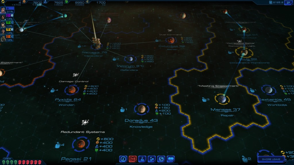 Sid Meier's Starships can feel a little like Ace Patrol but shares more DNA with PC strategy titles.