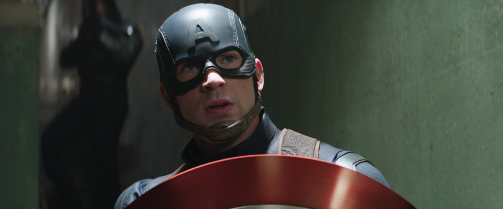 Captain America (Chris Evans) continues to stick up for what he believes is right.
