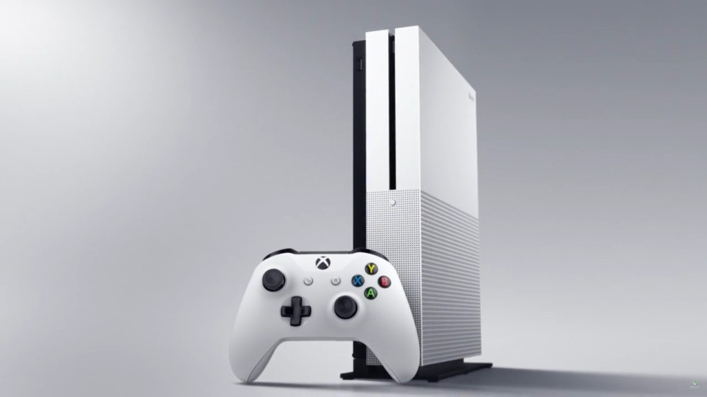 The Xbox One S; smaller and better but alas the S does not stand for Scorpio.