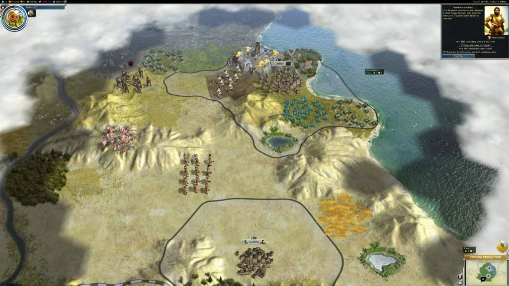 Best bit about later versions of Civ (in this case Civilization V) is how nicely they scale to modern hardware. Click to view the full 4K screenshot.