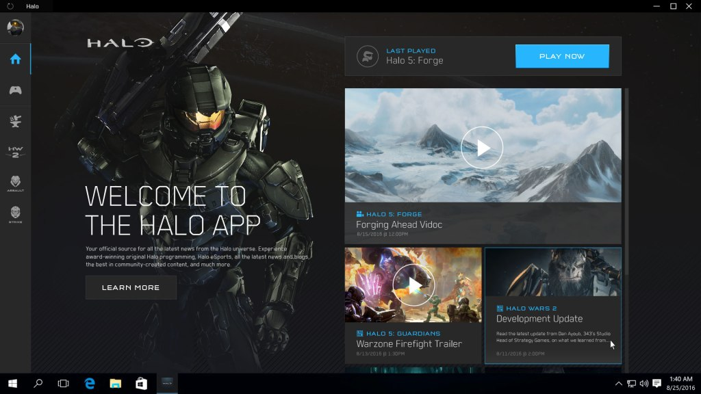 The new Halo app look to be the successor to the Halo Channel if it packs the amount of content being described.