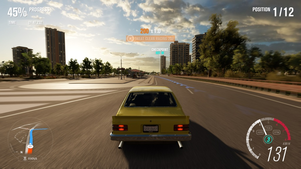 Racing around Surfers Paradise in an Australian classic.