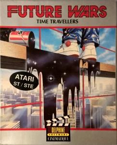 Future Wars box for the Atari ST