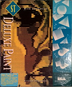 Deluxe Paint box for the Atari ST