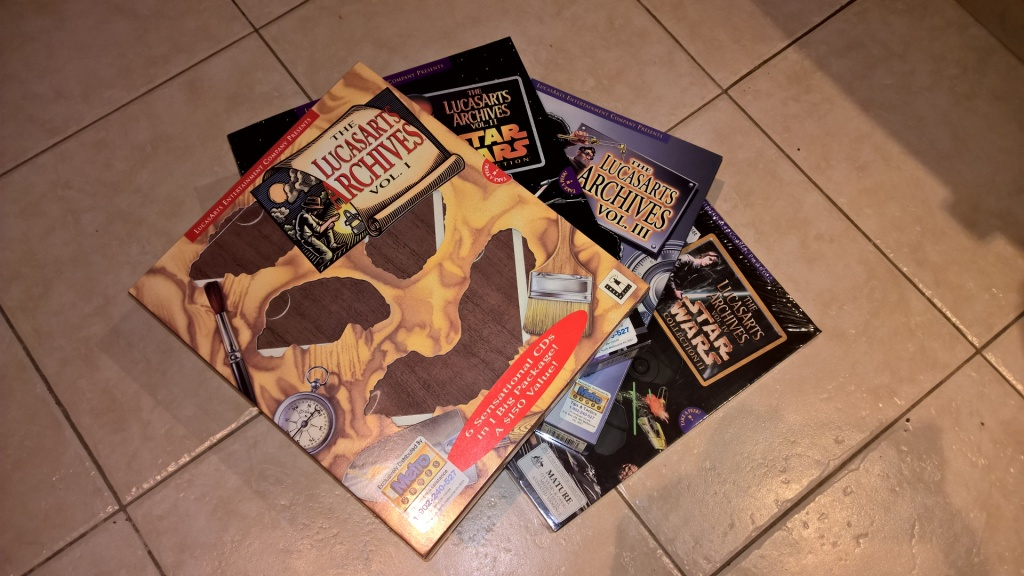 To be able to get a massive part of LucasArts' PC back catalogue on CD-ROM was huge - I ended up getting most of their games of the era this way.