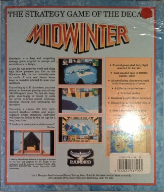 Always thought the back of the box did well in showing what to expect from the game.