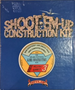 Shoot-Em-Up Construction Kit box for Atari ST