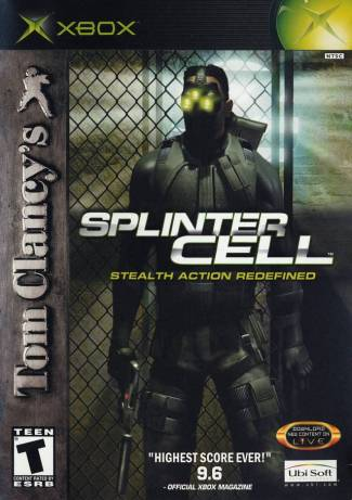 There were at least two variations of the Splinter Cell cover...